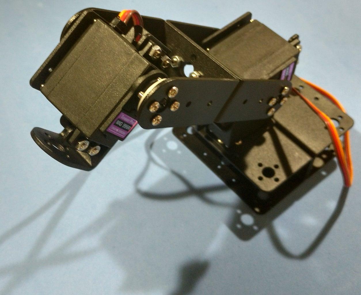 Assembling the Robotic Arm Pt4 - Servo #3