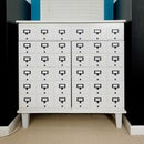 DIY Faux Card Catalog Cabinet