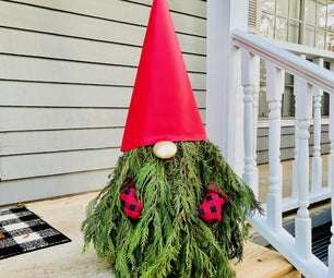 Make a Christmas Gnome - Holiday DIY!