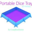 3D Printed Extremely Portable Dice Tray