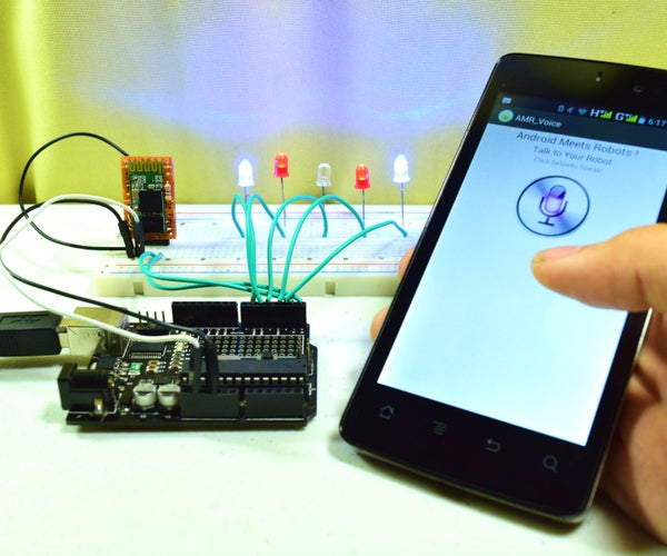 Voice Activated Arduino (Bluetooth + Android)