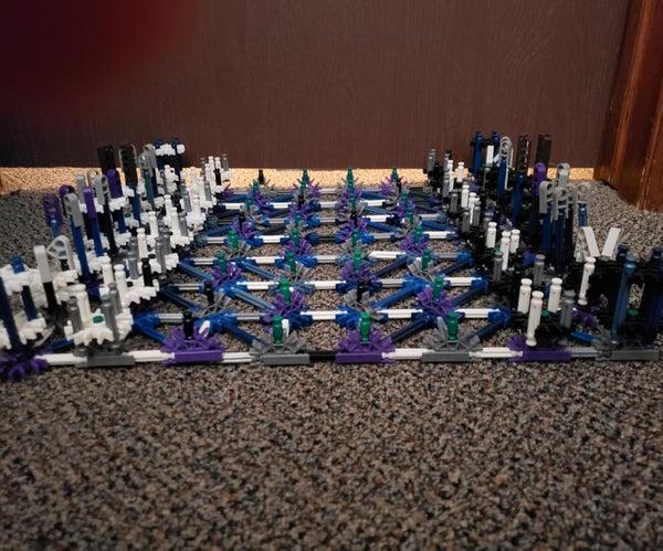 Knex Chess Board W/pieces.
