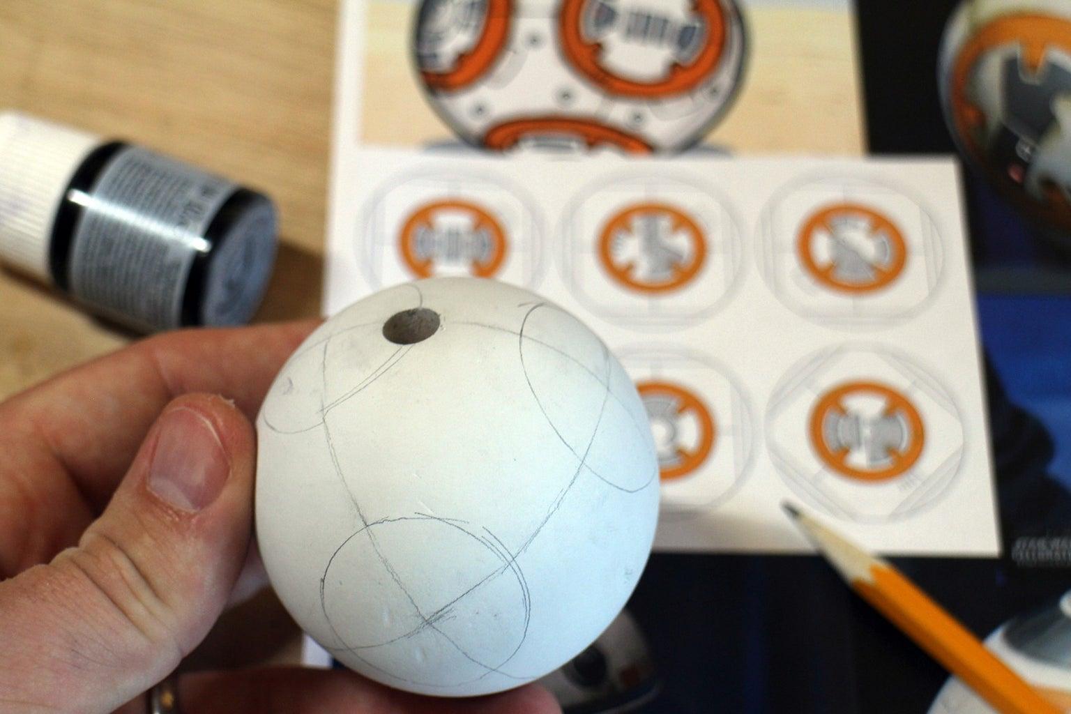 Heel Ball - Sketching