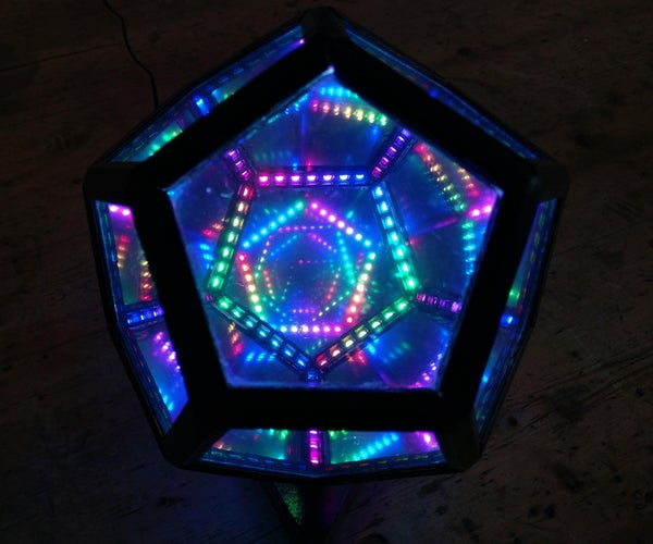 Desktop-Sized Infinity Dodecahedron
