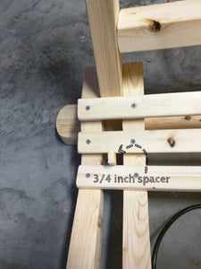 Sand Seat Slats and Attach the Section of Seat Slats Up to the Vertical Arm Rest Support Boards.
