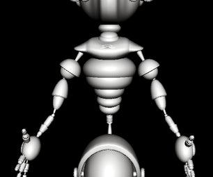 Gyrobot for 3D Print