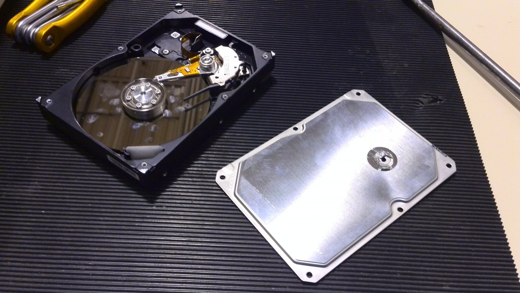 Taking Apart the HDD