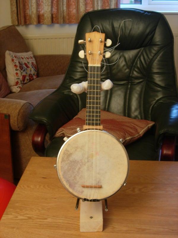 How to Make a Ukulele, Banjolele, Banjo Ukulele, Guitar Stand.