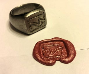 Signet Ring From Nut