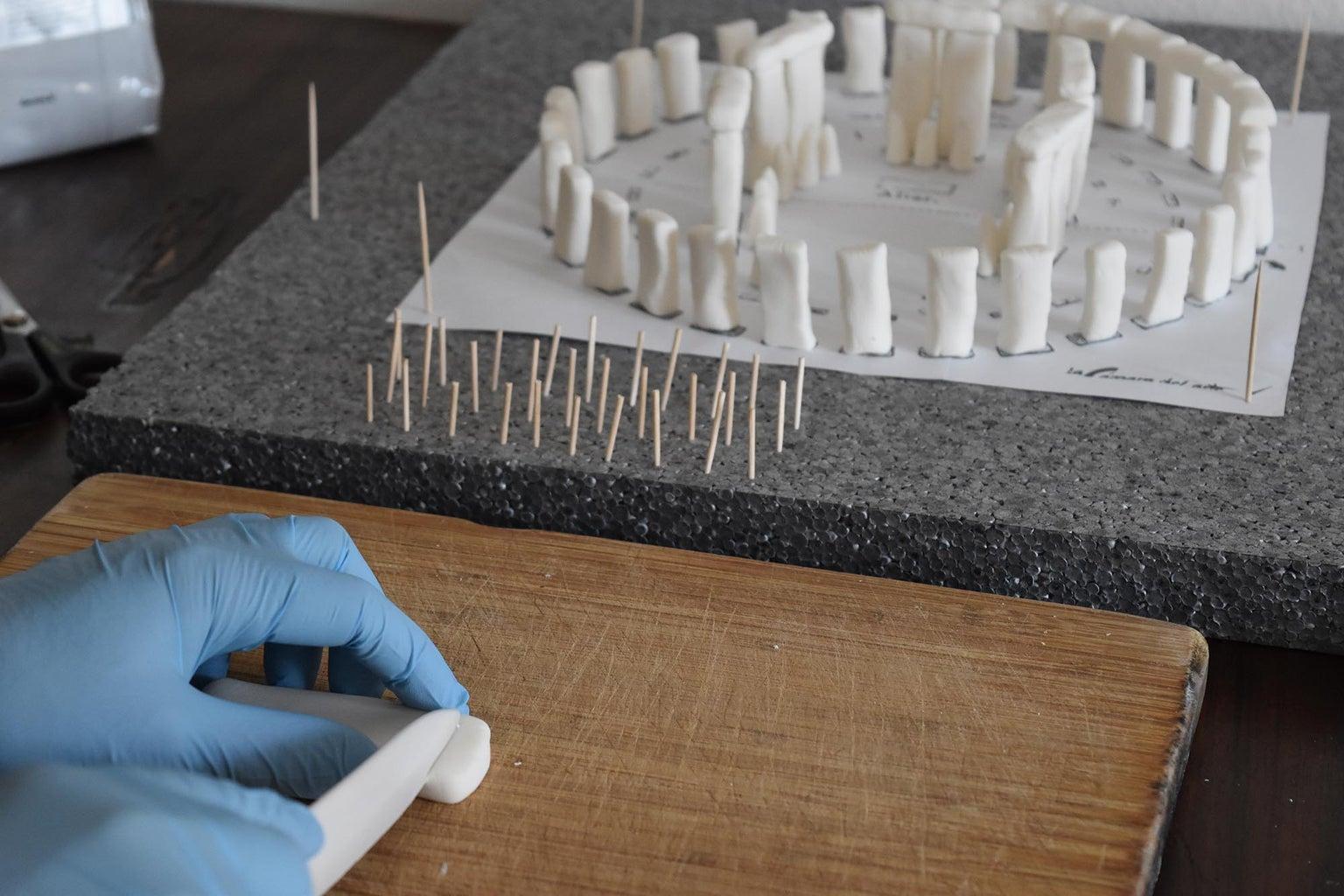 Stonehenge Sugar Paste - Make