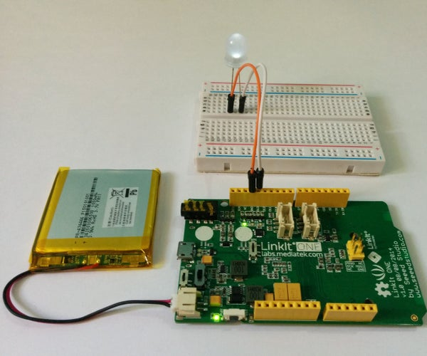 Getting Started With the LinkIt One - WIFI