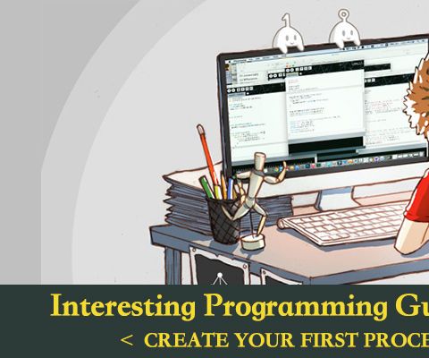Interesting Programming Guidance for Designer--Create Your First Processing Program