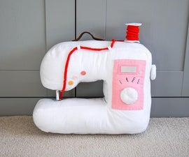 DIY织物缝纫机!|有趣的毛绒玩具缝纫项目