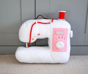 DIY Fabric Sewing Machine! | Fun Stuffed Toy Sewing Project