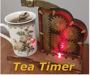 Tea Timer With an Automatic Teabag Remover