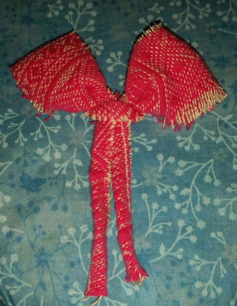 Bow With Tails - No Sew