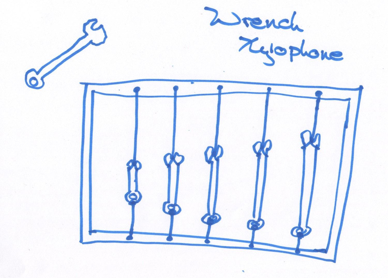 Wrench Xylophone