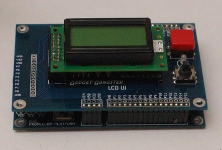 The LCD UI Module