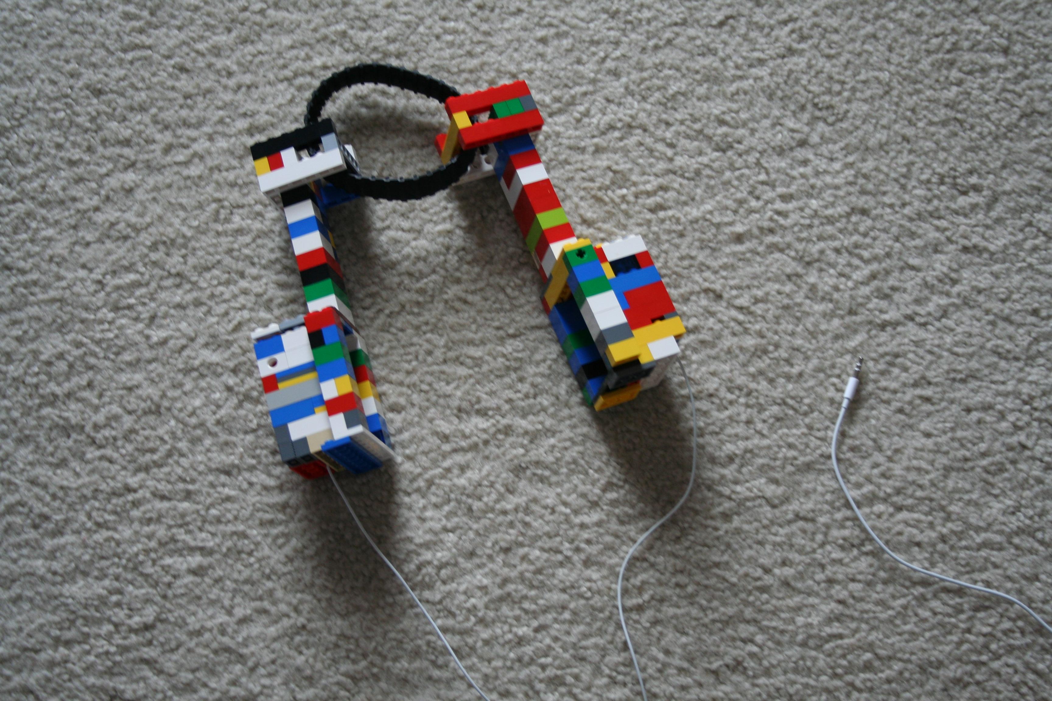 Lego headphones (working)