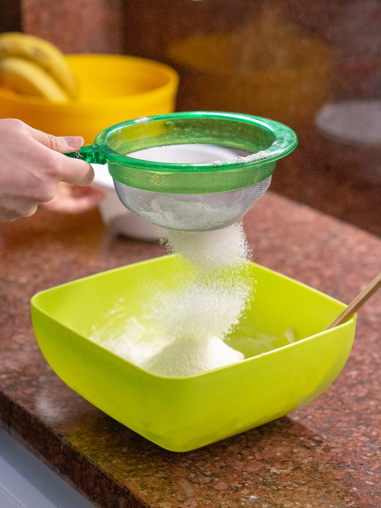 Add the Flour