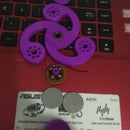 """Electric Fidget Spinner """"spin With Electric Motor"""""""