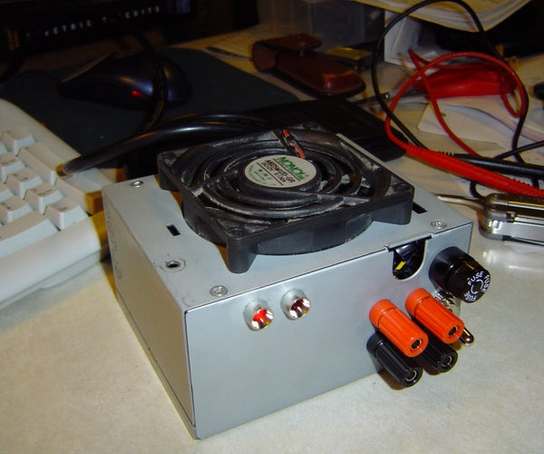 ATX to Lab Bench Power Supply Conversion