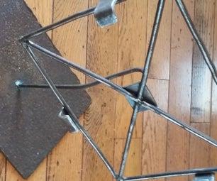IPad Stands From Scrap Metal