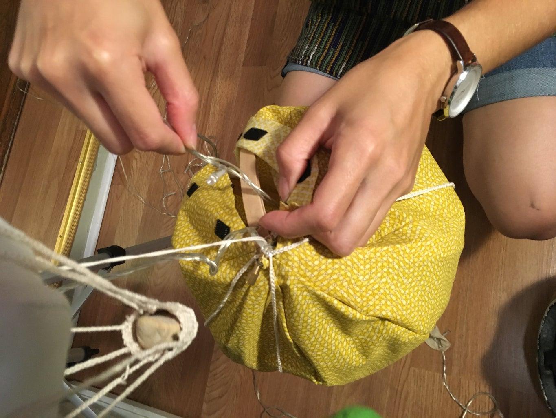 Crocheting the Basket & Finishing