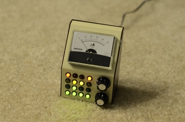 Cwik Clock V1.0 - an Arduino Binary Clock