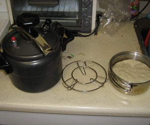 """Easy Bread Anywhere: """"Baking"""" Bread in a Pressure-cooker"""