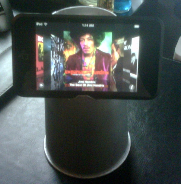 The Paper Cup Stand (For an IPhone, IPod Classic, PSP, Blackberry Etc)