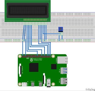 How to Connect 16x2 Lcd With Raspberry Pi