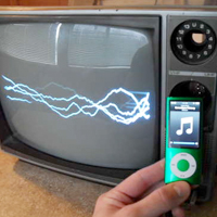 Adjustable TV Oscilloscope