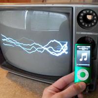 Adjustable TV Oscilloscope