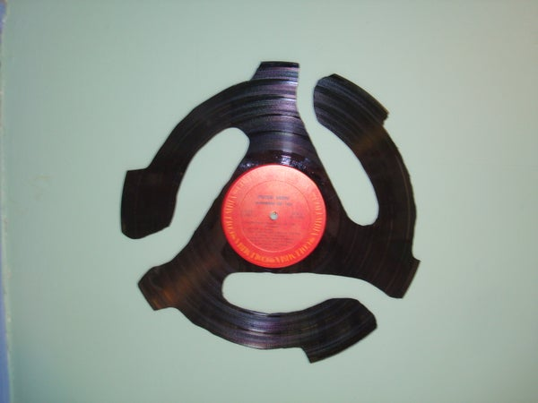 Vinyl Record Cutouts