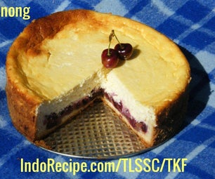 Sour Cherry Cheesecake (Hungarian Style)