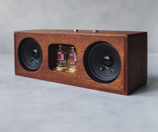 How to Build a Portable Bluetooth Tube Amplifier