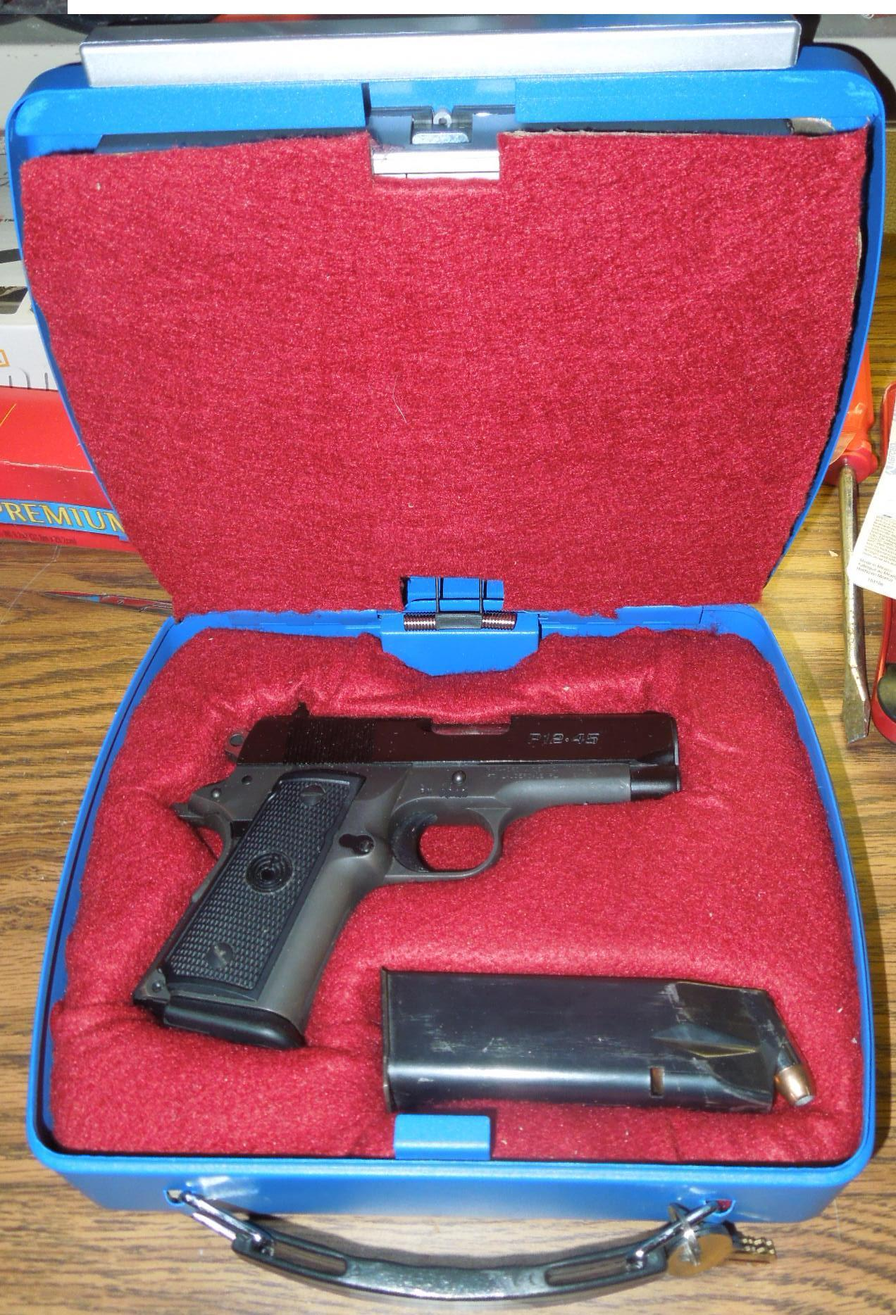 "Making a custom ""French fit"" pistol case insert"