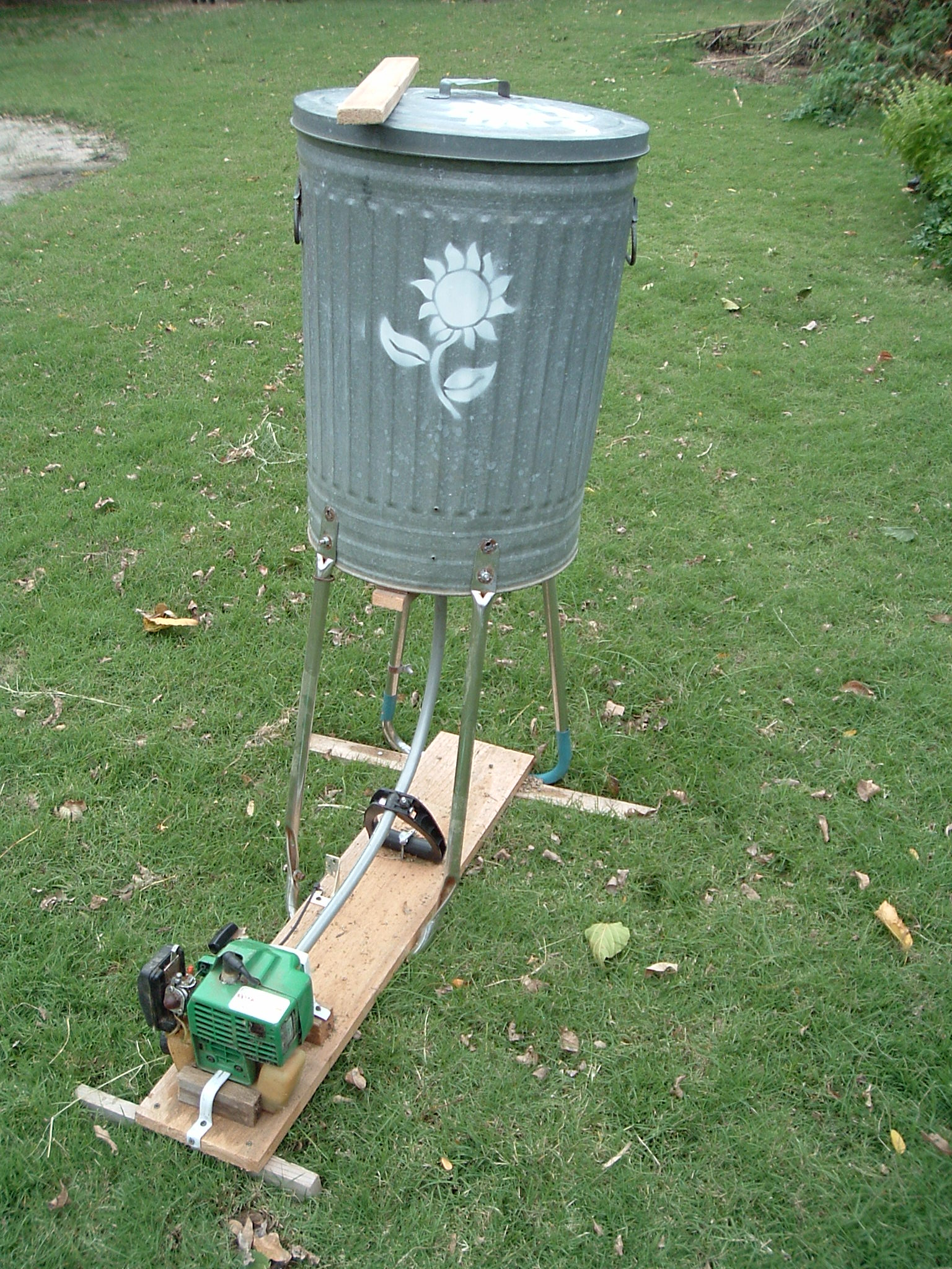 Gas Powered Shredder / Wildflower Seed Thresher