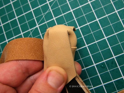 Wrapping the Handle