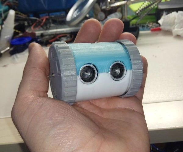 Arduino 3D Printed Can Robot (one More Object Avoiding Robot)  