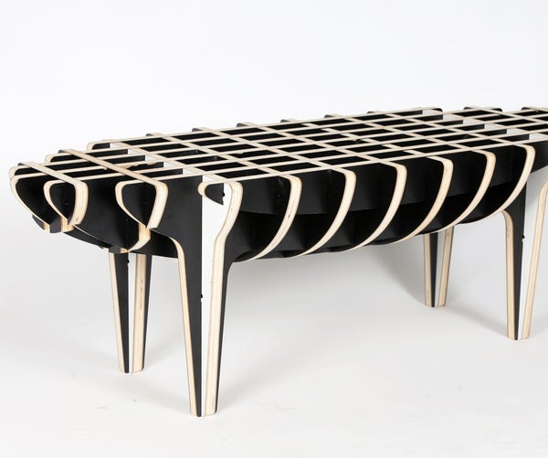 Piggy Coffee Table - CNC Router