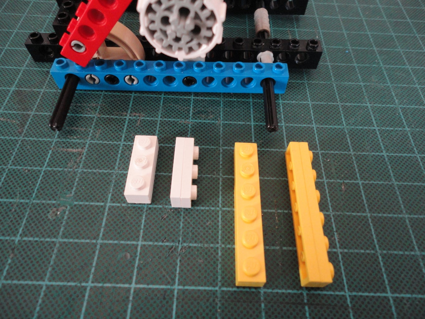 Vertical Frame & Base Constructions (Continue)