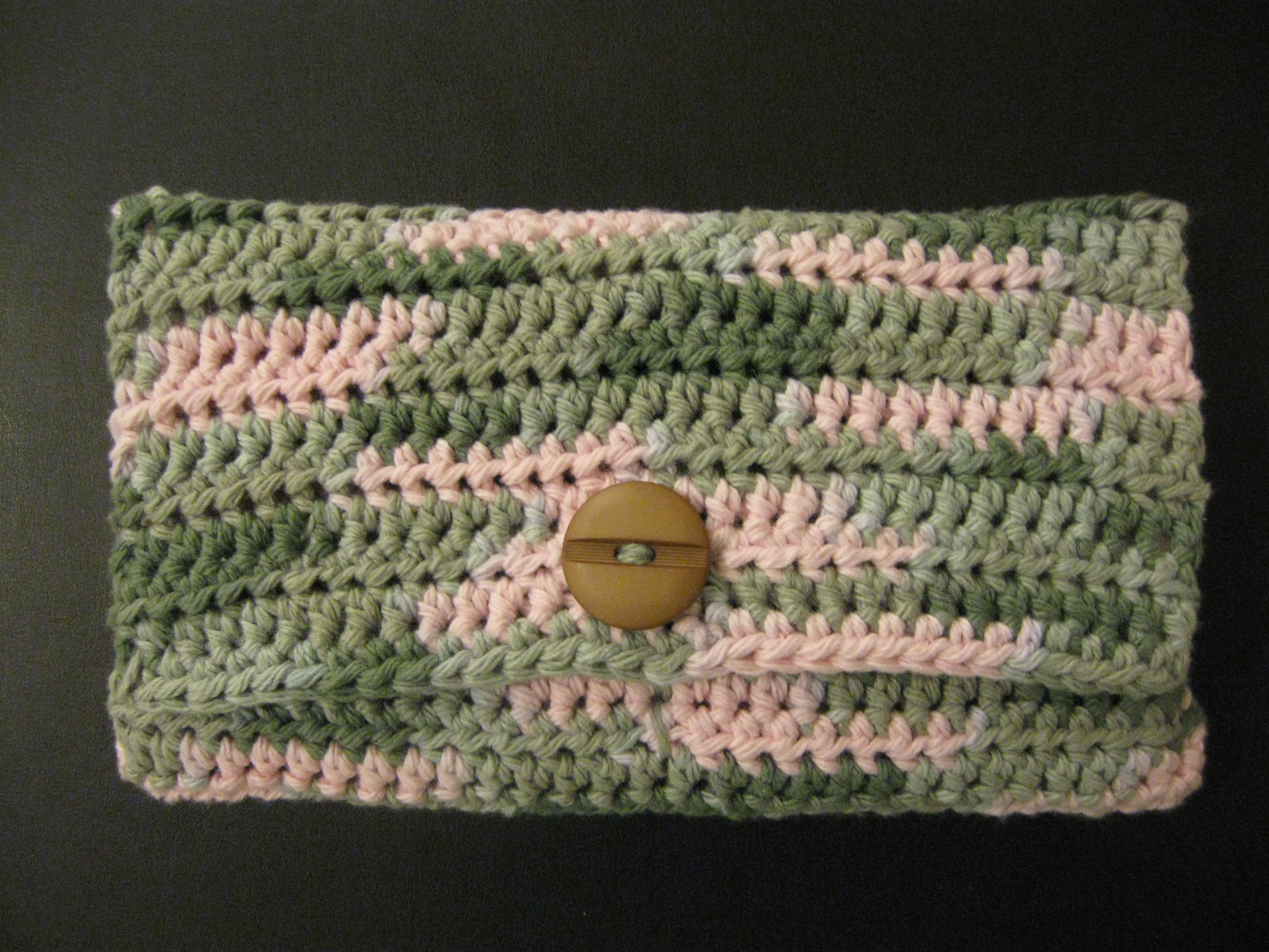 Crocheted 5 Pocket Purse