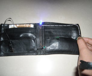Rechargeable Wallet LED Torch(with Usb)