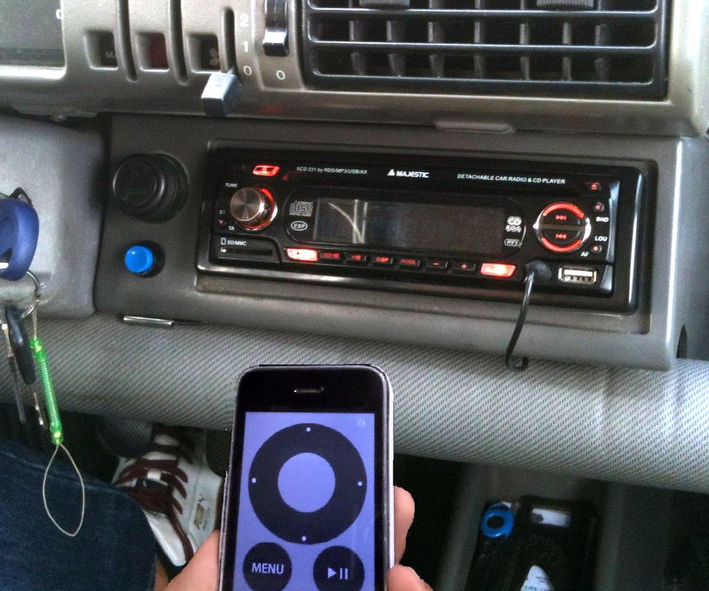 Add Bluetooth to your old Car-Hifi