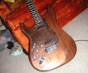 How to Make a Custom Metal Guitar Pickguard!