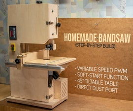 Homemade Bandsaw by DIY Enthusiast