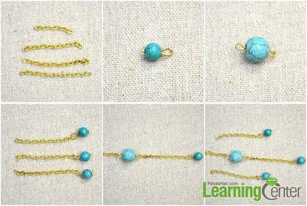 Make the Bead Dangle Chains