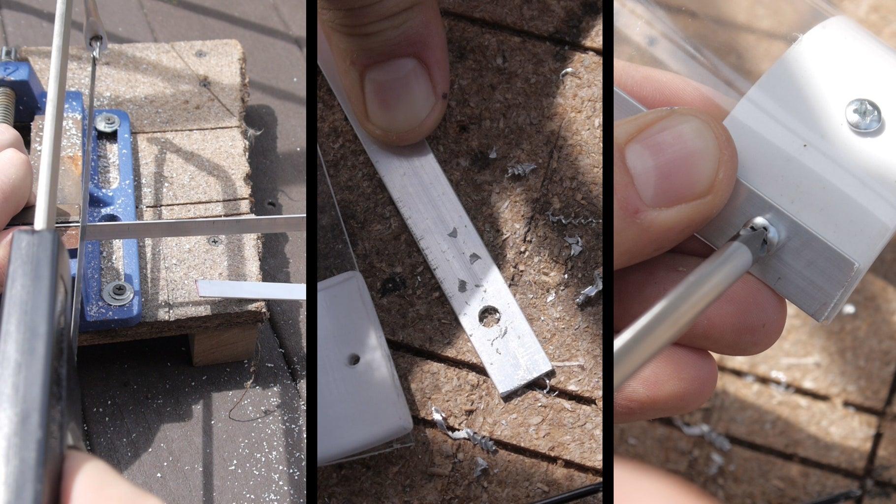 Adding Aluminum Bars to Cover